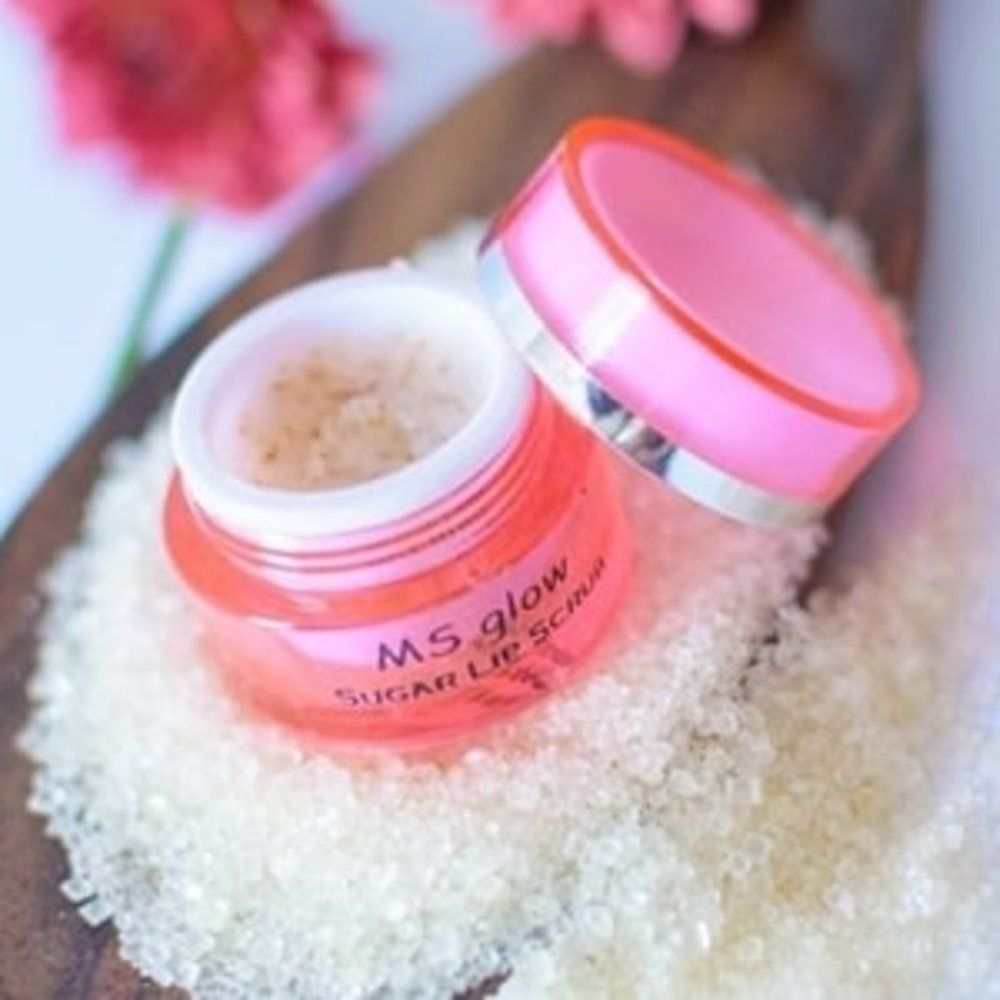 sugar lips scrub ms glow