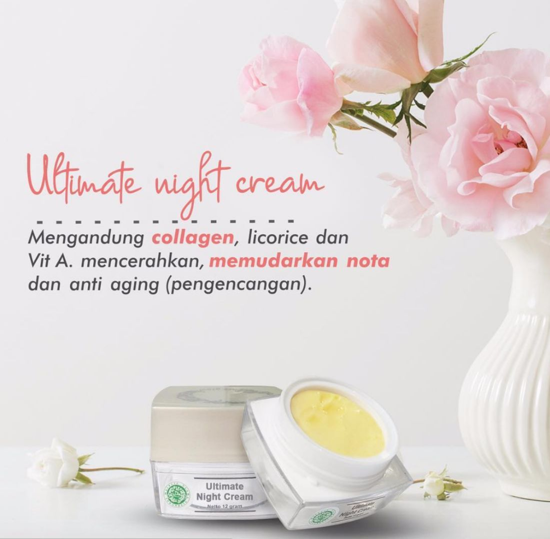 Ultimate night cream MS Glow
