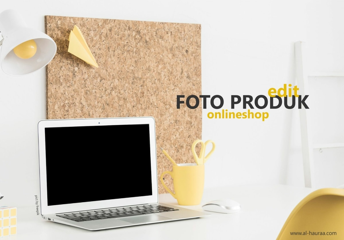 EDIT FOTO PRODUK ONLINESHOP