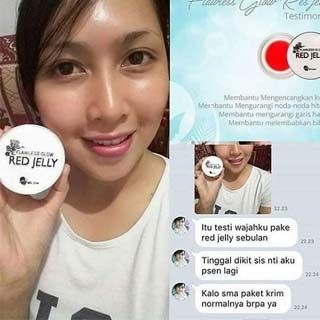 Testimoni red jelly ms glow www.ms-glow.store