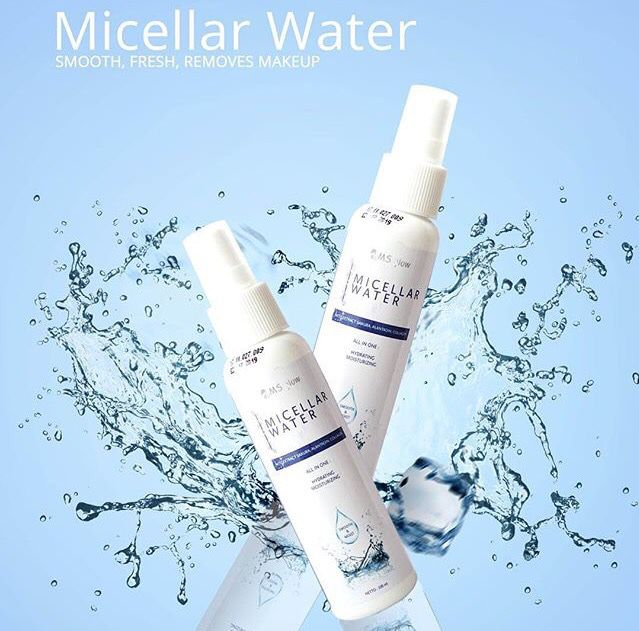 Micellar Water Ms Glow