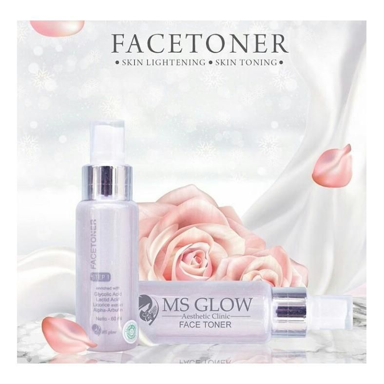 Manfaat Face Toner MS Glow